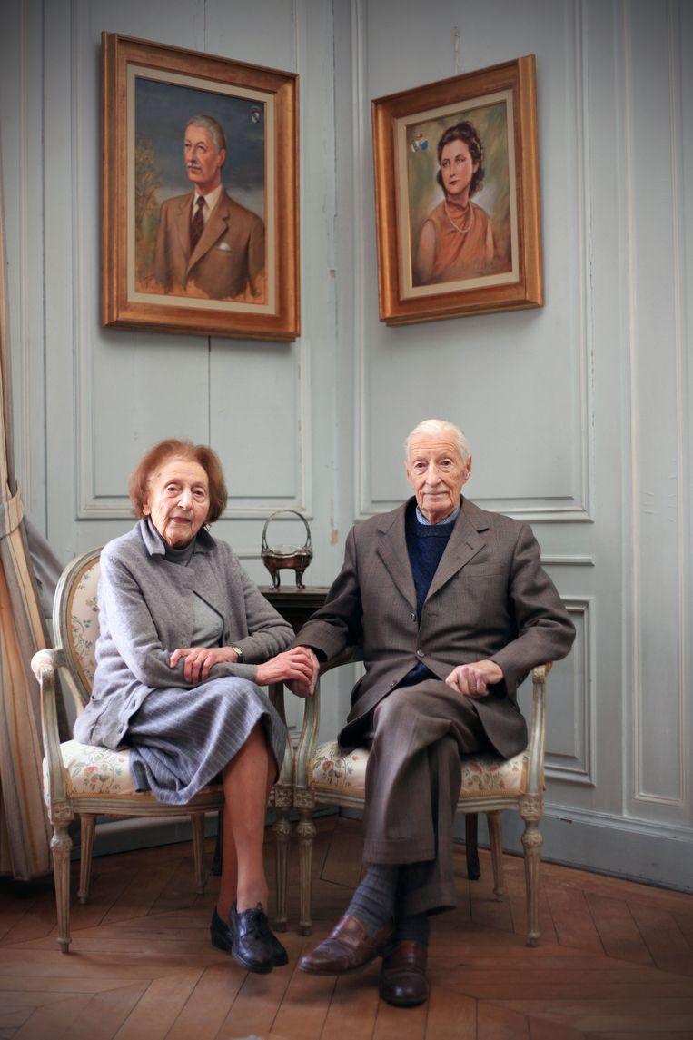 Baron Henri de Villefagne de Vogelsanck met zijn vrouw, gravin Louise-Marie de Lichtervelde.