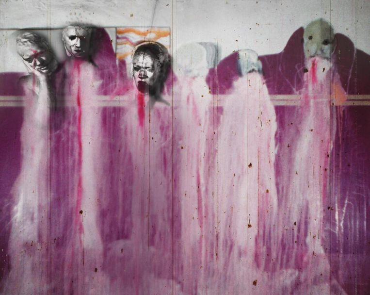 David Lynch, Six Men Getting Sick, 1967 Beeld ABSURDA