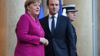 Merkel en Macron willen nieuw Elysée-verdrag om Frans-Duitse banden aan te halen