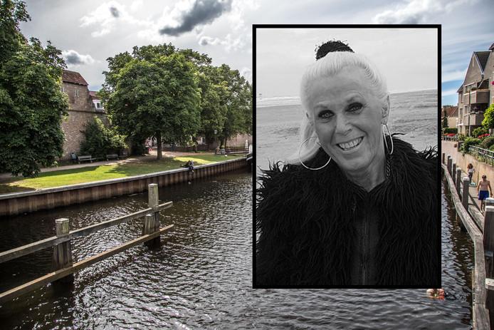 Carla Klompenmaker overleed op haar 70ste verjaardag. Ze krijgt een bijzondere uitvaart: over de grachten in Zwolle.