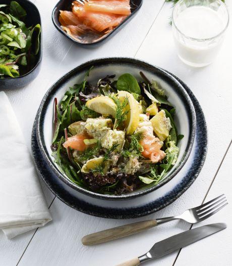 Wat Eten We Vandaag: Zweedse aardappelsalade met gerookte zalm