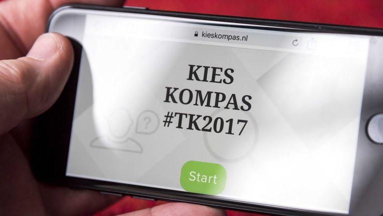 Kieskompas is een Nederlandse website die kiezers helpt bij het inwinnen van stemadvies.