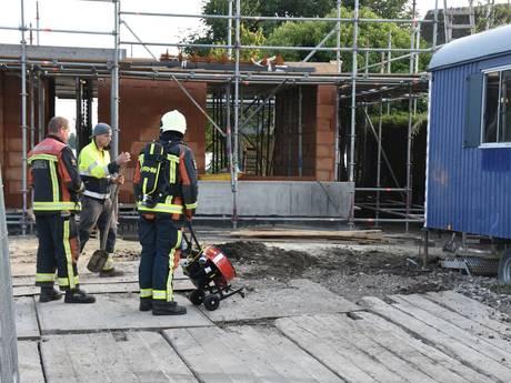 Flink gaslek zorgt voor afsluiting 's-Gravenboekseweg in Reeuwijk