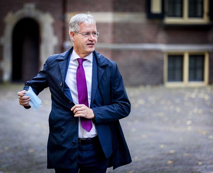 Arie Slob, minister voor Basis- en Voorgezet Onderwijs en Media.
