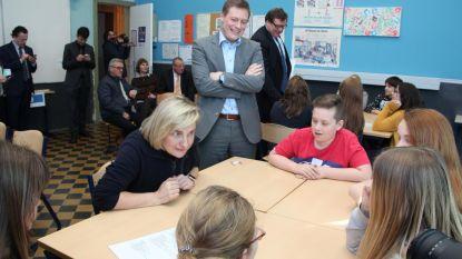 Leerlingen op speeddate met minister en CEO