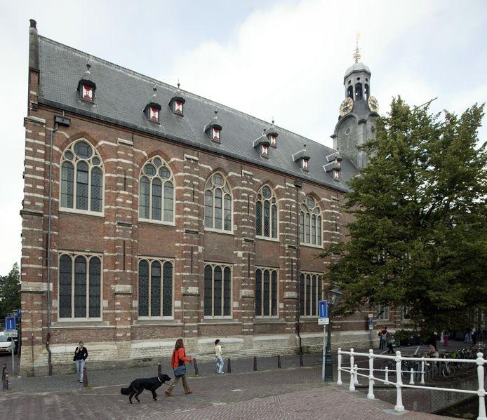 Het Academiegebouw van de Universiteit Leiden.