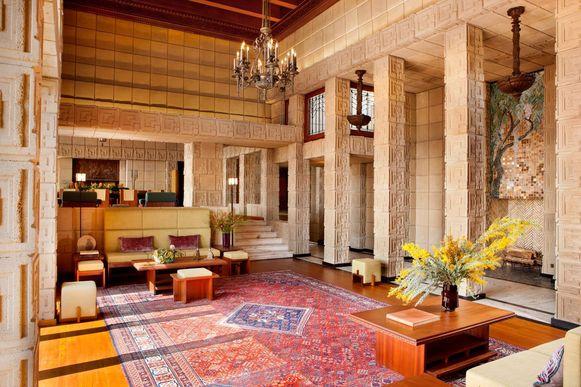 Ennis House van Frank Lloyd Wright.
