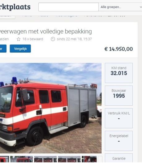 Pssst... Tweede tankautospuit kopen?
