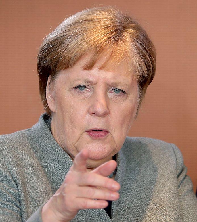 De Duitse bondskanselier Angela Merkel heeft samen met collega's Emmanuel Macron en Boris Johnson forse kritiek op Iran.