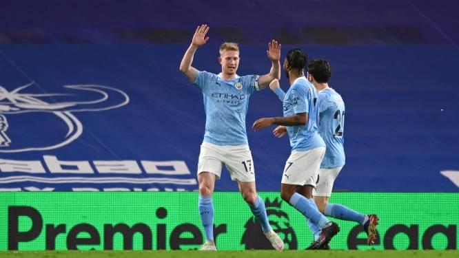 Een goal én assist: uitblinker Kevin De Bruyne leidt Man City naar overwinning tegen Chelsea