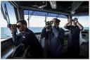 Zr. Ms. Evertsen nam 1 januari het stokje over als vlaggenschip van de Standing NATO Maritime Group-2 (SNMG-2). Na een kort havenbezoek aan Georgië zette het schip afgelopen week koers richting Roemenië.