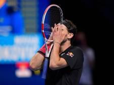 Thiem naar finale ATP Finals na weergaloos duel met Djokovic
