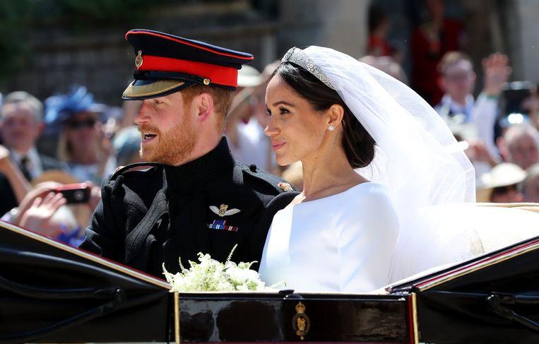 Op 19 mei stapten prins Harry en de Amerikaanse actrice Meghan Markle in het huwelijksbootje.
