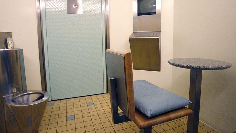 Een cel in het gevangeniscomplex van Noordwest. Archieffoto. Beeld ANP
