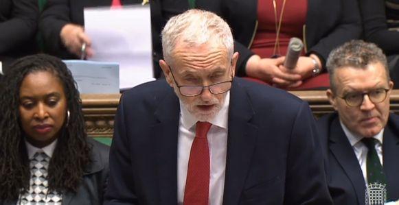Ook Labour-oppositieleider Jeremy Corbyn had het niet over de brexit.