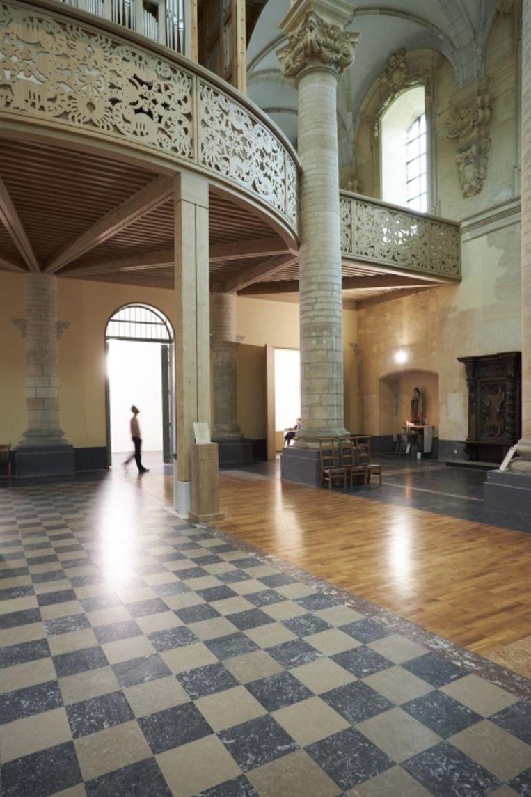 De Hoogzaal voor het Contius-orgel is een streling voor het oog.
