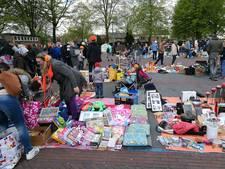 Gezellige drukte op rommelmarkt Borne
