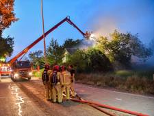 Uitslaande brand in Someren onder controle, veel schade aan woning