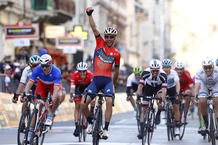 Vincenzo Nibali, de winnaar van de 109de editie van de monumentale klassieker.