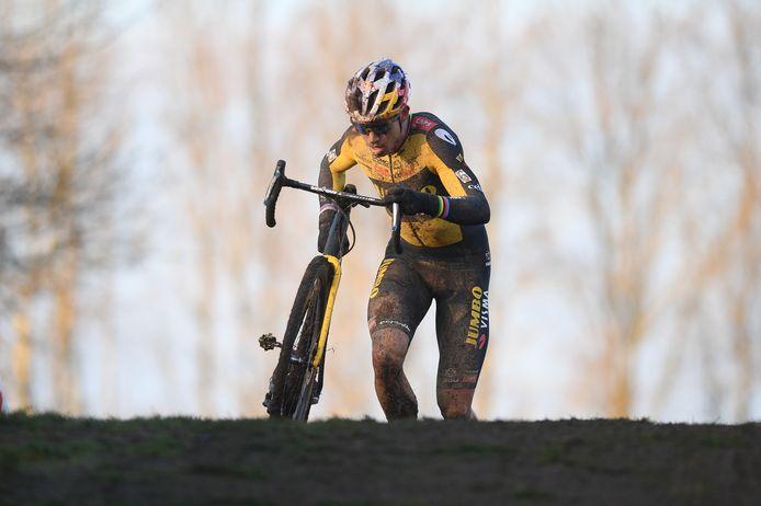 Wout Van Aert nouveau champion de Belgique.