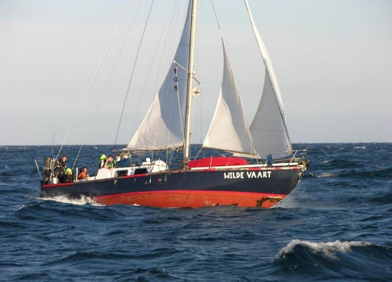 Met de Wildevaart was Laurens samen met twee vrienden op wereldreis. Beeld Facebook