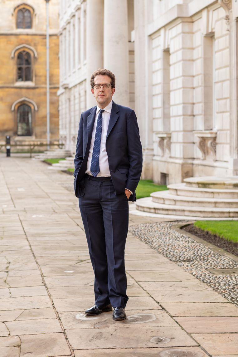 Daniel Hyde (39), de nieuwe dirigent van de Choir of King's College, Cambridge. Beeld Leon Hargreaves