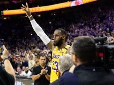LeBron James passeert Kobe Bryant op topscorersranglijst