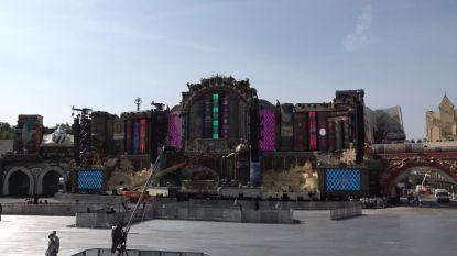 Zo ziet de Main Stage van Tomorrowland eruit