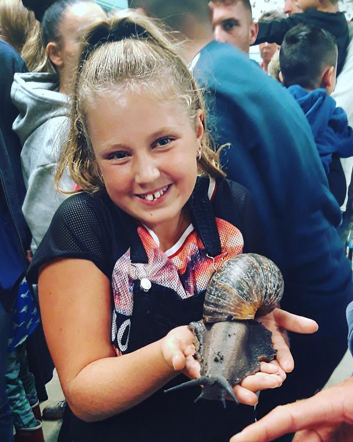 Honderden kinderen kwamen zondagmiddag langs in natuurcentrum De Boshoek in Schiedam.