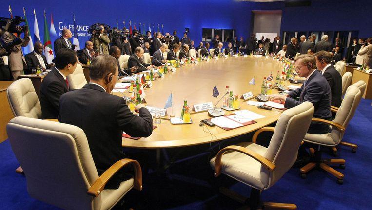De onrust in Syrië stond de afgelopen twee dagen ook op het programma van de G8. © ANP Beeld null
