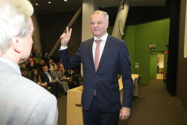 Eedaflegging burgemeester Filip Thienpont
