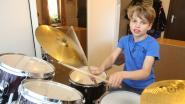 VIDEO: Melchior (11) is beste jonge drummer van Vlaanderen