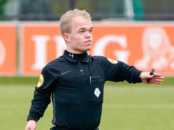 Manuel Uijttewaal ziet voetballers denken: is dít onze scheidsrechter?