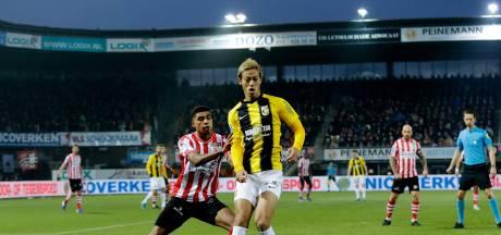 Honda komt bij eerste test in shirt Vitesse niet door de keuring