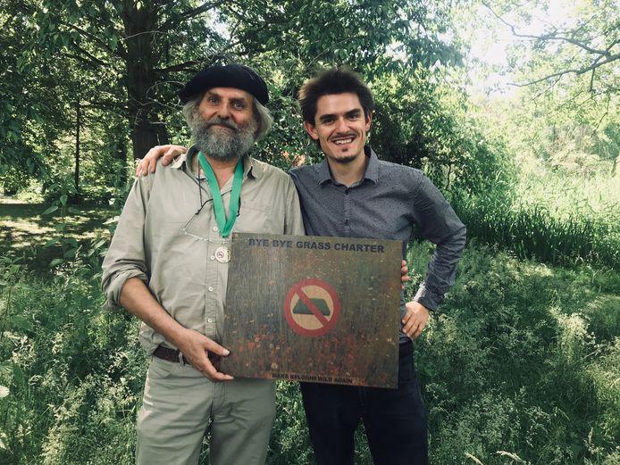 Bart Backaert met Louis De Jaeger.