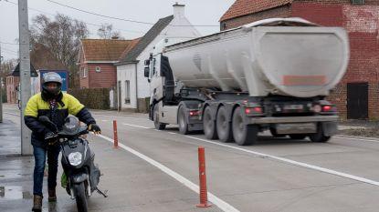 Zware hinder verwacht op Moorseelsesteenweg: straat krijgt apart fietspad en gescheiden riolering