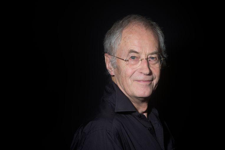 René Appel: 'Voor mij hoeven niet alle plotdraadjes afgehecht te worden, daar wordt een boek te keurig van'. Beeld Maartje Geels