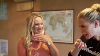 Lachen geblazen: BV's gefopt met paaseitjes