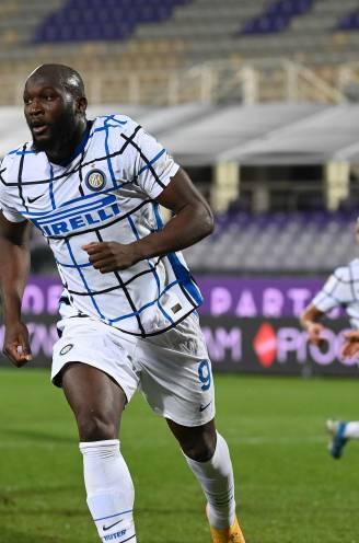 Lukaku valt in en kopt Inter tegen Fiorentina ultiem naar kwartfinale Coppa Italia