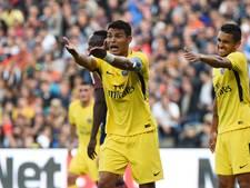 PSG lijdt puntenverlies zonder Neymar