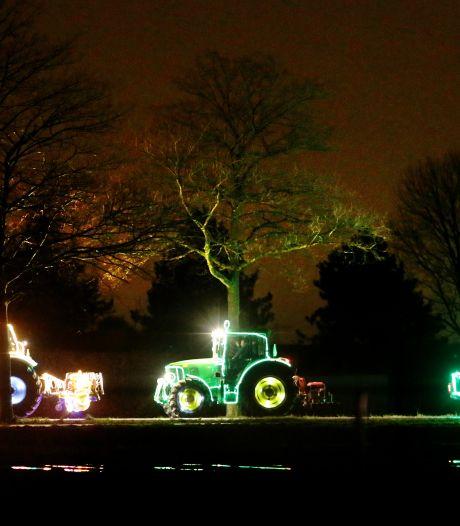 Verlichte tractoren rijden niet door de straten van Drimmelen en Prinsenbeek deze winter