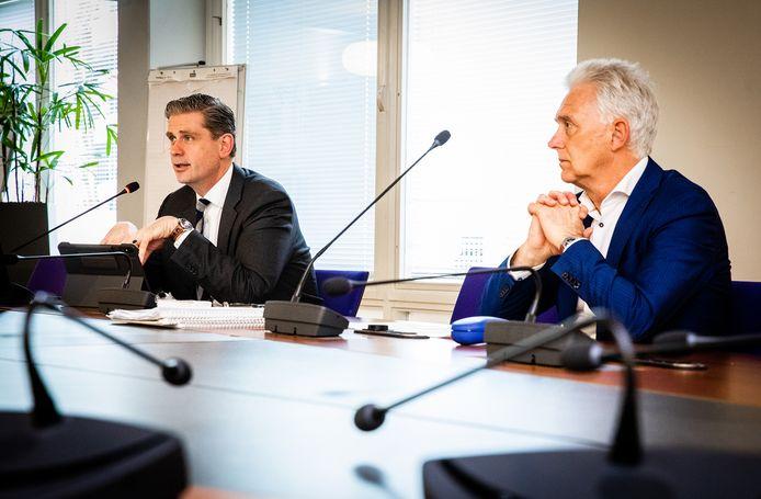 Persconferentie Wouter Kolff en Karel van Hengel van de GGD over de coronacrisis.