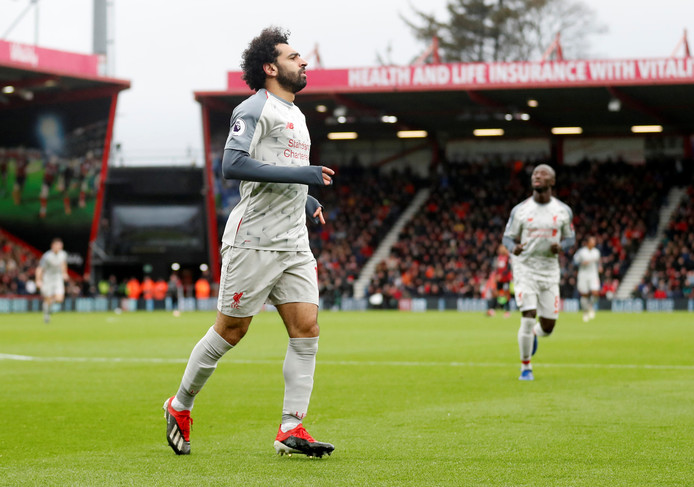 Mo Salah maakte er drie.