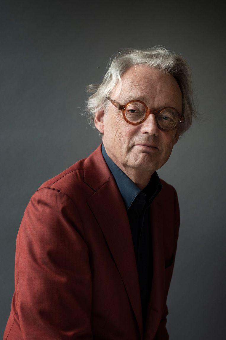 Portret van Sjoerd Soeters. Beeld Kiki Groot