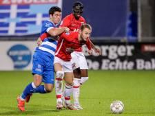 Spitsengoal Clement levert PEC Zwolle een fijn punt op tegen AZ