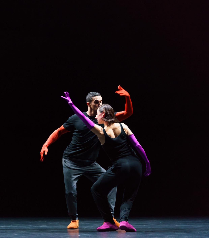 Parvaneh Scharafali: 'Bij Forsythe krijg je als danser een heel grote verantwoordelijkheid'.