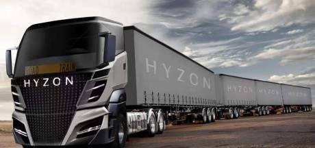 Deze nieuwe truck is vijftig meter lang