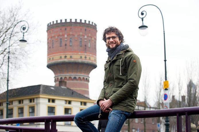 Utrechter Harm Aarts koopt oude watertoren aan de Lauwerhof in Utrecht