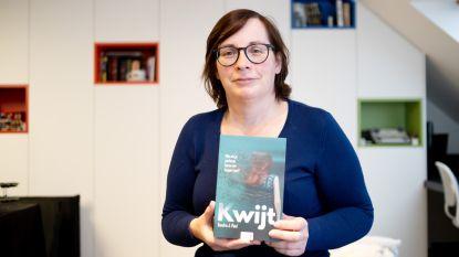 Schrijfster Sandra J. Paul stelt nieuwe boek 'Kwijt' voor in de bib