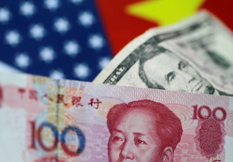 Door de devaluatie van de yuan wordt Chinese export goedkoper.
